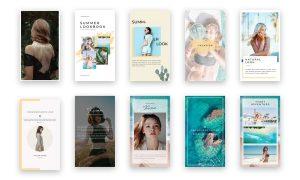 Kiran - Instagram Stories & Post Template RQG3RK - PSD