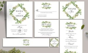 Leaves Wedding Invitation 6C8MCY