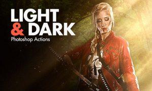 Light & Dark - Photoshop Actions CJ7RR3