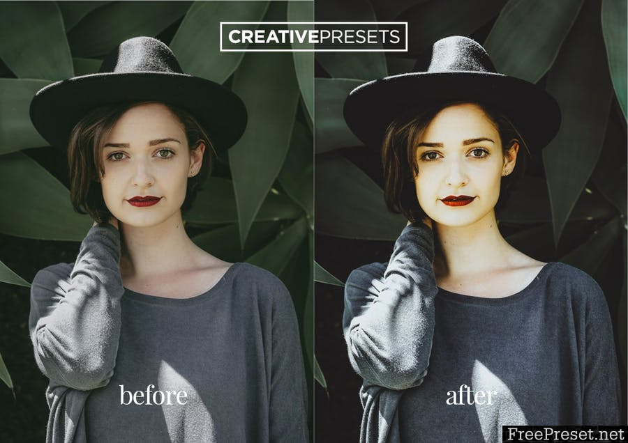 Modern Portrait Lightroom Presets PSALVA