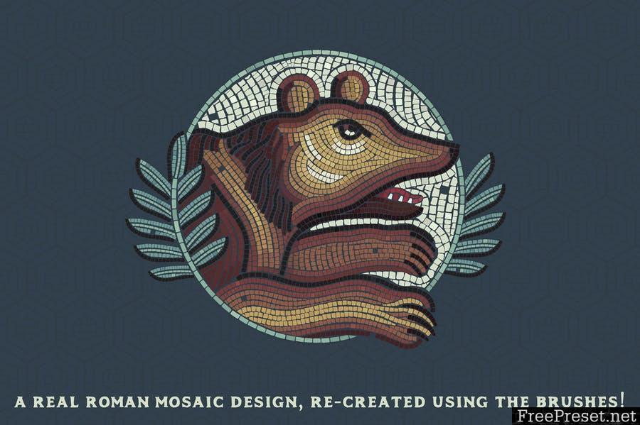 Mosaic Maker - Brushes & Patterns 2XNCE3Z -  AI