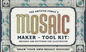 Mosaic Maker - Brushes & Patterns 2XNCE3Z -  AI
