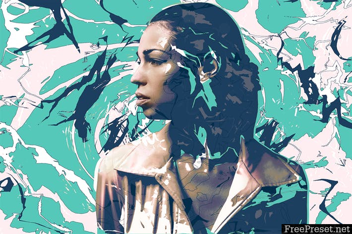 Motion Graphic Photoshop Action L6YNKQ