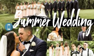 Neo Summer Wedding Theme mobile lightroom presets engagement tone Adob
