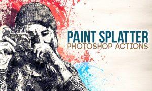 Paint Splatter - Photoshop Actions TLJPEZ
