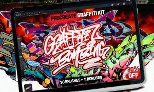 PROCREATE GRAFFITI BOMBING 3321456