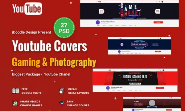 Promotion Youtube Covers - 27PSD