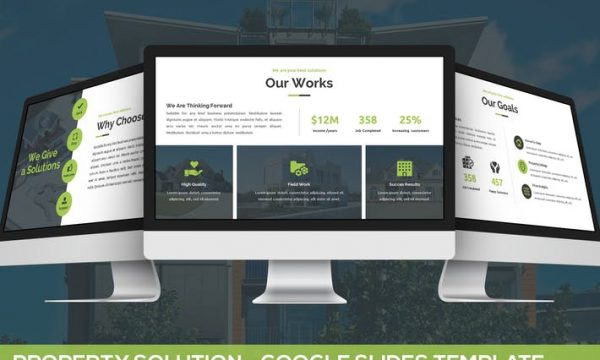 Property Solution - Google Slides Template T8U5H5 - PPTX
