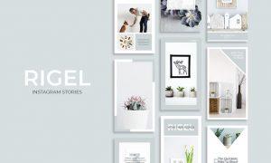 Rigel Instagram Stories VRNVVP - PSD, PDF