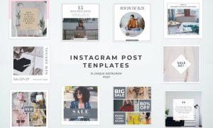 Simple Instagram Post Templates 3BJ7JF