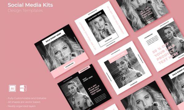 SRTP - Social Media Kit.35 - ELFJEQ - AI, EPS