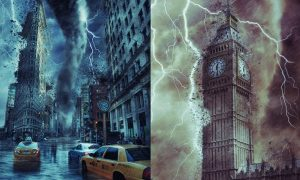 Storm Photoshop Action 5ATBDZ