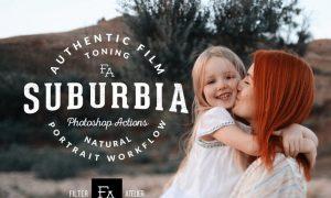 Suburbia Photoshop Actions B8AJCD