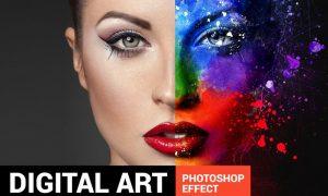 Ultimatum - Digital Art Photoshop Action SPWXN3