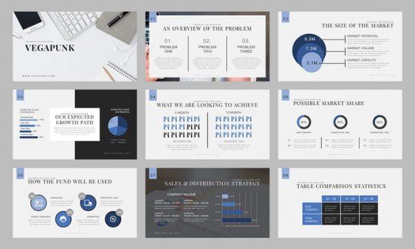 Vegapunk : Pitch Deck Powerpoint Template HESA2L - PPTX