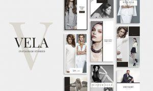 Vela Instagram Stories T6YXVB - PSD, PDF