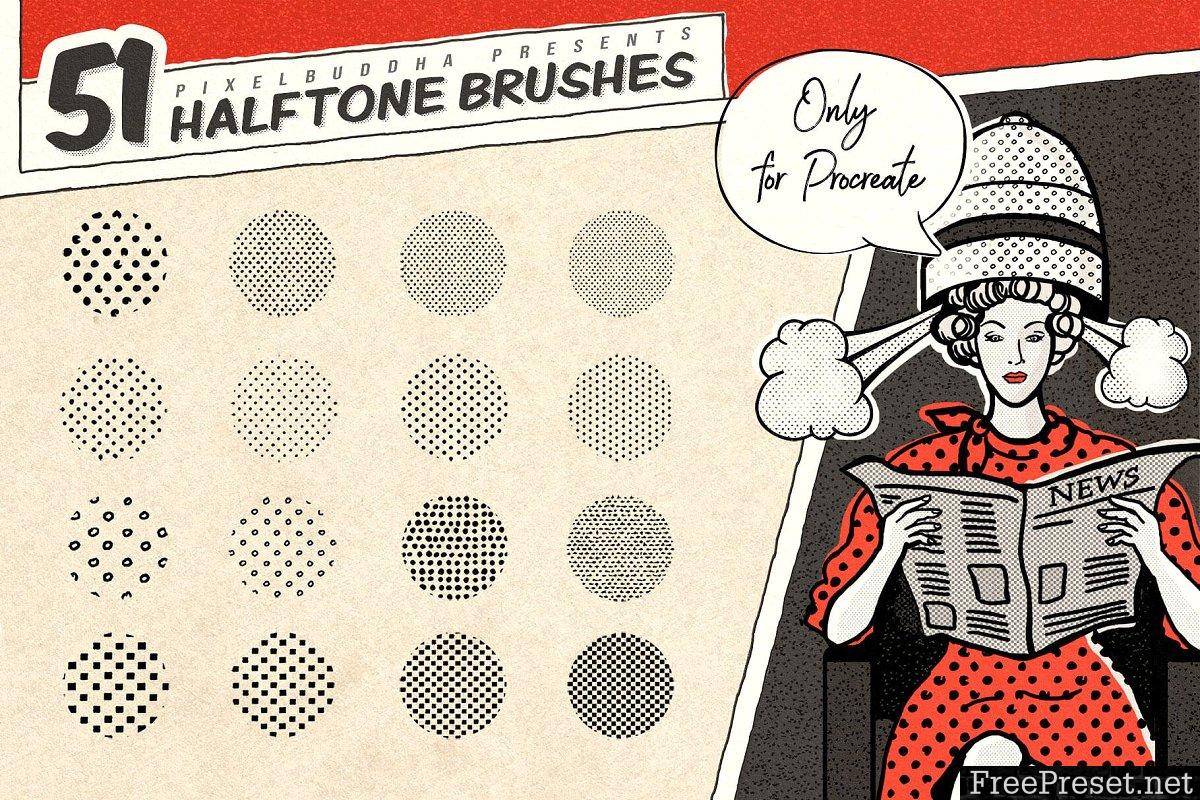 Vintage Comic Procreate Brushes 3402568