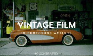Vintage Film Photoshop Actions 837TWE