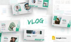 Vlog - Google Slides Template XTK6WF - PPTX
