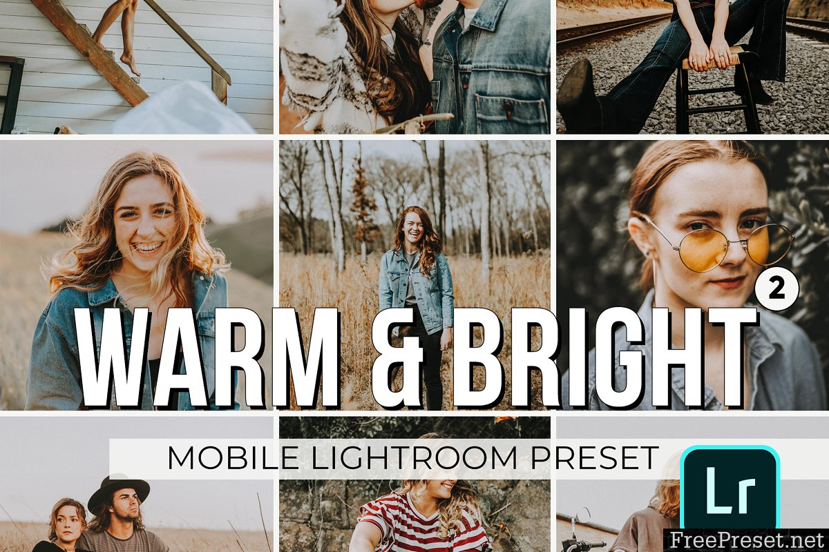 Warm and Bright Mobile Presets 3320856