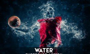 Water Photoshop Action F5DXQP