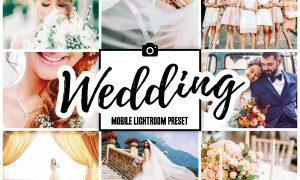 WEDDING Mobile Lightroom Presets 3858882