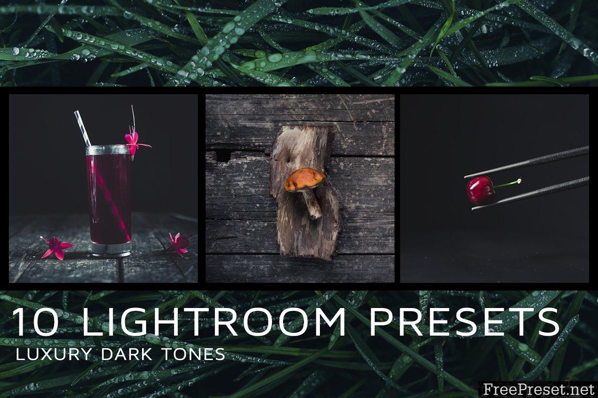 10 Dark tones presets for Lightroom 2172224