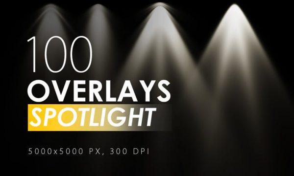 100 Spotlight Overlays W8D7A6 -  JPG