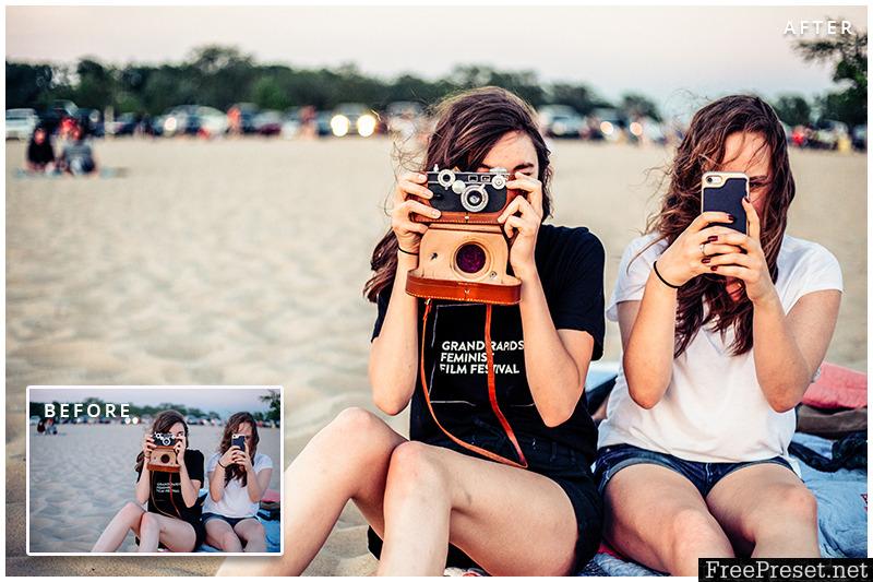 5 Summer Blog Lightroom, Mobile DNG & Camera RAW Presets