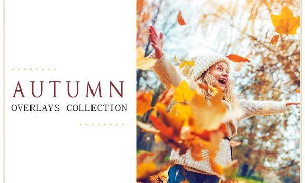 50 Autumn Photoshop Overlays Bundle 1368258