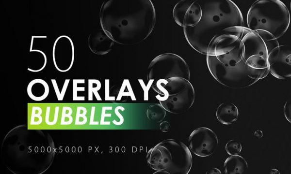 50 Bubble Overlays A8PGWU - JPG