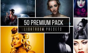 50 Premium Lightroom Presets Pack 2006287