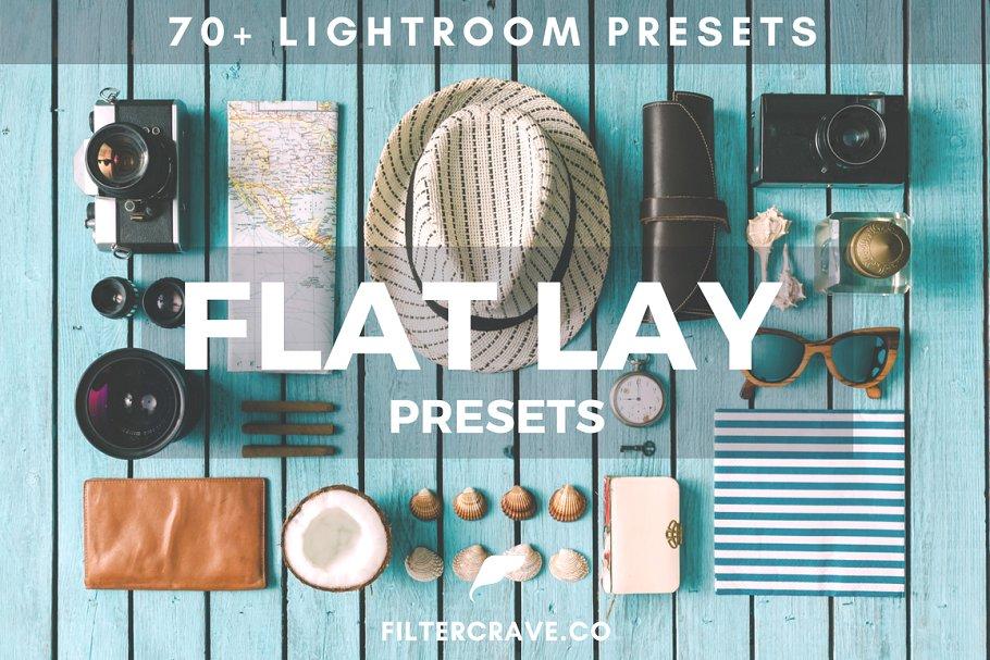 70+ Flat Lay Lightroom Presets Vol I 1803749