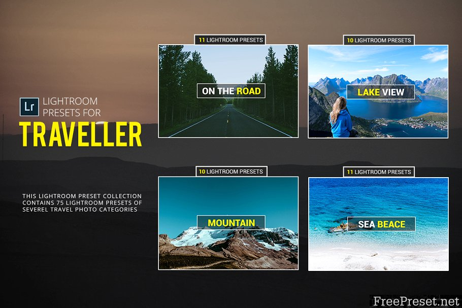 72 Lightroom Presets For Traveller 1835612