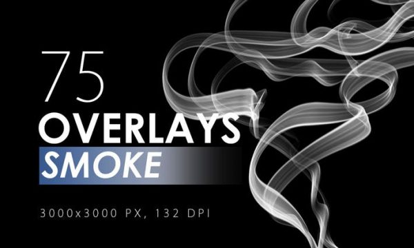 75 Smoke Overlays - PXV555 - JPG
