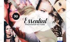 90 Essential Photoshop Actions 3934449