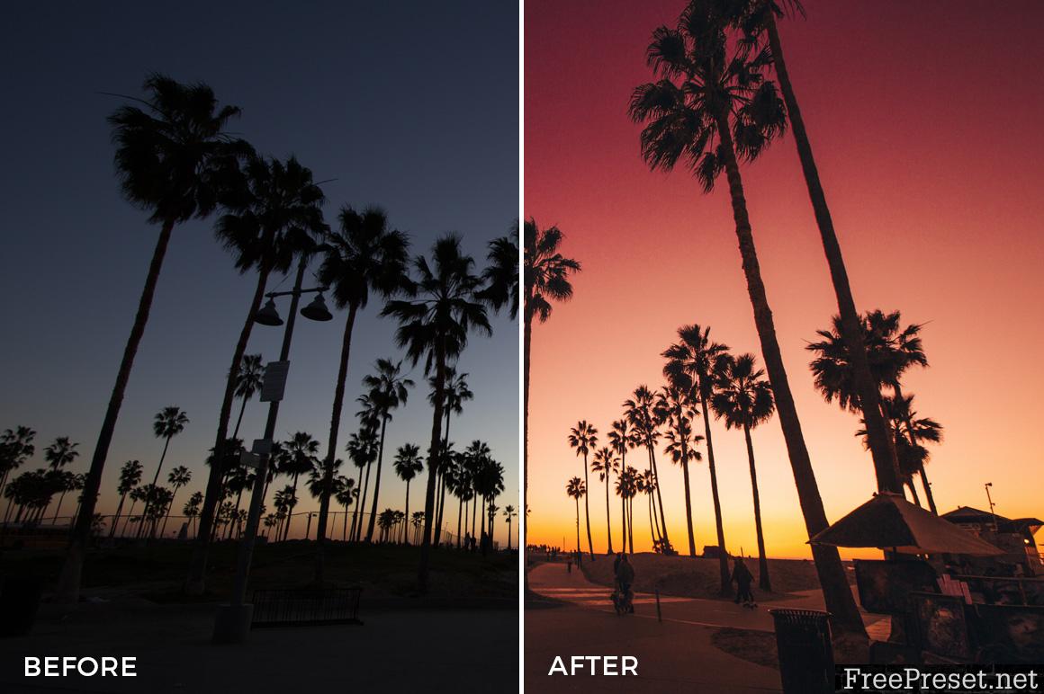 Alexander Zhuk Summer LA Lightroom Presets