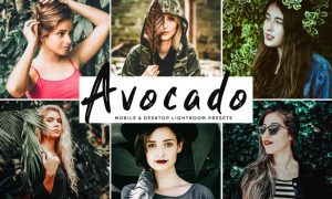 Avocado Mobile & Desktop Lightroom Presets