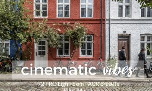 Cinematic Vibes Lightroom Presets 1380759