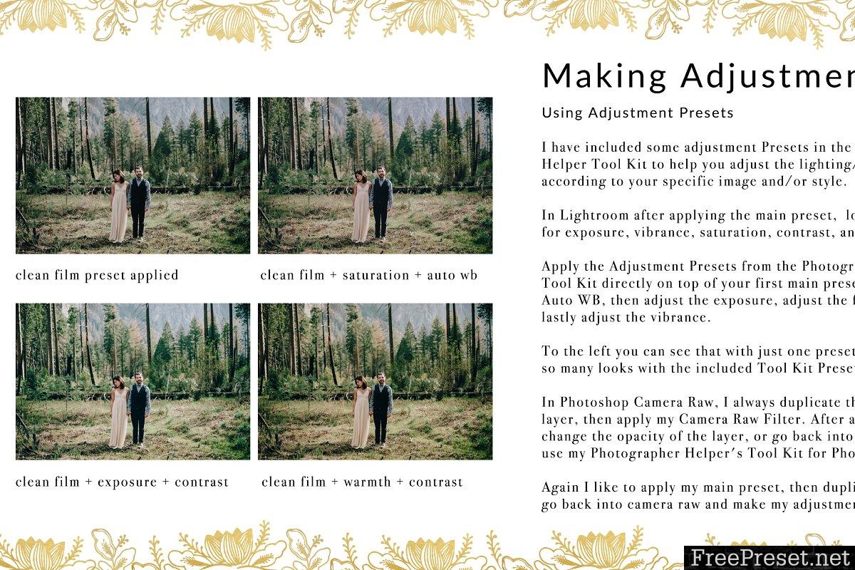 Dark Film Tones Wedding Presets 1310290