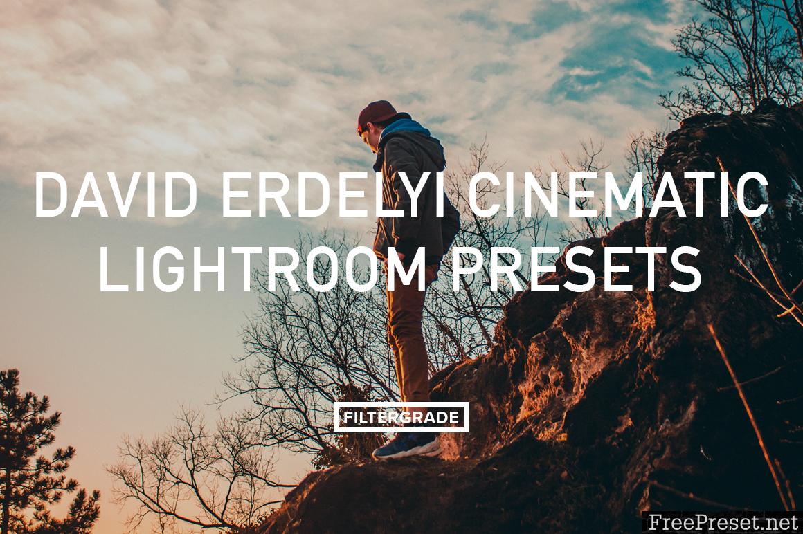 David Erdelyi Cinematic Lightroom Presets