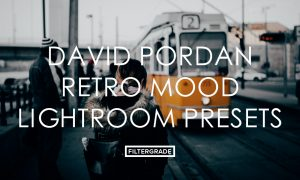 David Pordan Retro Mood Lightroom Presets