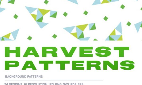 Harvest Background Pattern Tiles BQPFB4 - EPS, JPG, PDF, PNG