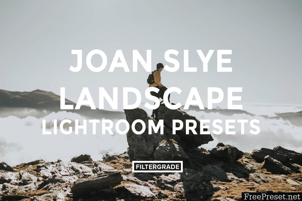 Joan Slye Landscape Lightroom Presets