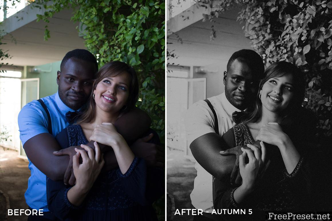 Jose Zurita Autumn Lightroom Presets