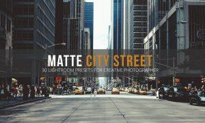 Matte City Street Lightroom Presets 1861104