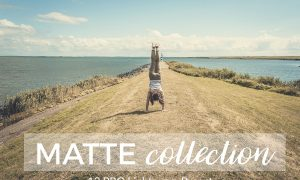"""Matte Lightroom Presets 1807072Matte Collection is a professionally designed pack of 12 Lightroom Presets for giving your photos a beautiful, vintage, faded and film look.  Matte Collection is a must have for photographers, bloggers and instagramers: travel, landscape, wedding or portraits photos.  This pack contains a total of 12 Lightroom Presets.  BUY THEM AND START ENHANCING YOUR PHOTOS NOW  Works with:  RAW, DNG, JPG, TIFF and PSD files. Best results with RAW/DNG.  Compatible with:  Adobe Lightroom 4, 5, 6 and CC. Windows PC and Mac  They don´t work with Adobe Photoshop  Installation:  Download the presets and unzip them.  Open the Presets Folder in Lightroom o PC: Edit Preferences o MAC: Lightroom Preferences  Go to """"Presets"""" tab and click on """"Show Lightroom Presets Folder""""  Go to """"Lightroom"""" folder and then to """"Develop Presets"""" folder  Paste the presets into the """"Develop Presets"""" folder.  Maybe you want to create a subfolder.  Close and Open Lightroom again  Start using them"""