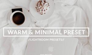 MINIMAL BLOGGER LIGHTROOM PRESET 2246323