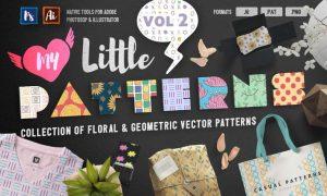 My Little Patterns Vol. 2 ZEZ52S - AI, EPS, PNG