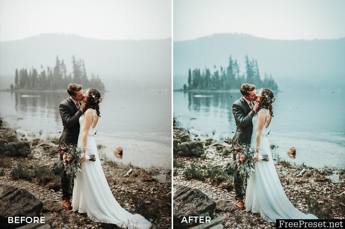 Nick Asphodel Wedding Lightroom Presets